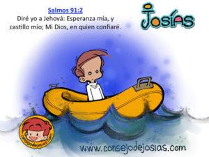 Imágenes del salmo 91 para niños