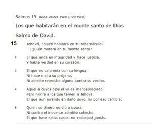 Salmos de amor al prójimo