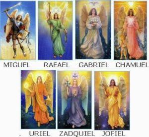 Oración de los 7 arcángeles