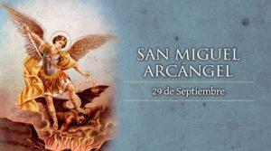 Día de San Miguel arcángel