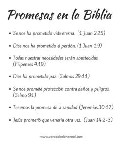 promesas biblia