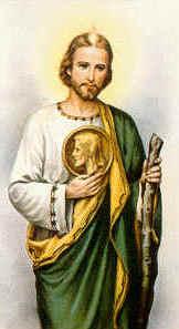 Nombre de San Judas Tadeo.