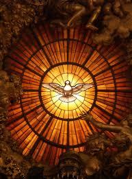 La venida del Espíritu Santo.