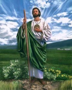 Vida y obra de San Judas Tadeo.