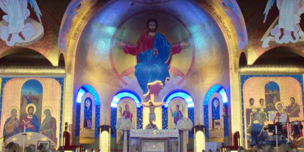 Iglesia católica que sigue los mandamientos